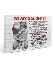 I Closed My Eyes For But A Moment Dad To Daughter Gallery Wrapped Canvas Prints tile