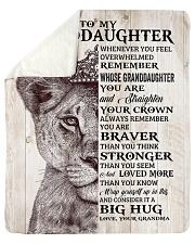 "Lion - Whenever U Feel  Grandma-Granddaughter Sherpa Fleece Blanket - 50"" x 60"" thumbnail"