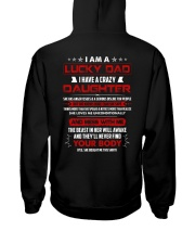 I Am A Lucky Dad Have A Crazy Daughter Hooded Sweatshirt thumbnail