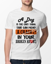 A Dog Is The Only Thing Classic T-Shirt lifestyle-mens-crewneck-front-13