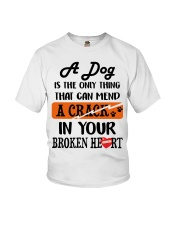 A Dog Is The Only Thing Youth T-Shirt thumbnail