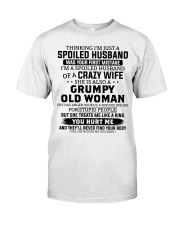 I'm A Spoiled Husband Of A Crazy Wife Classic T-Shirt thumbnail
