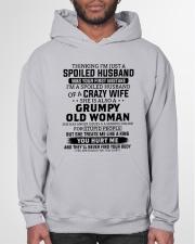 I'm A Spoiled Husband Of A Crazy Wife Hooded Sweatshirt garment-hooded-sweatshirt-front-03