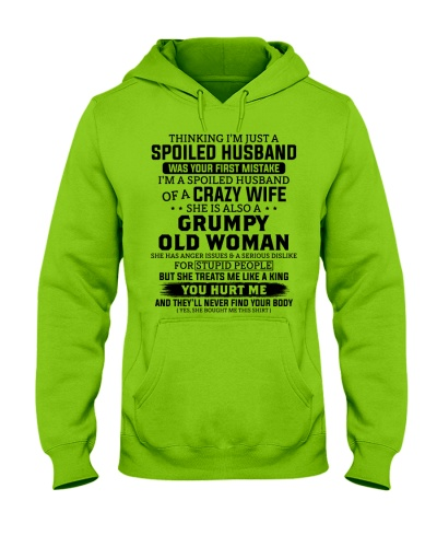 I'm A Spoiled Husband Of A Crazy Wife