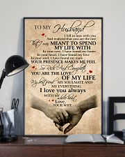 To My Husband You Are The Love Of My Life 11x17 Poster lifestyle-poster-2