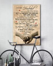 To My Husband You Are The Love Of My Life 11x17 Poster lifestyle-poster-7
