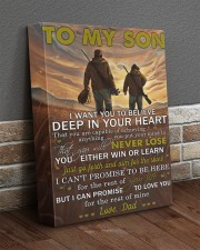 I Want U To Believe Deep In Your Heart Dad To Son 11x14 Gallery Wrapped Canvas Prints aos-canvas-pgw-11x14-lifestyle-front-10