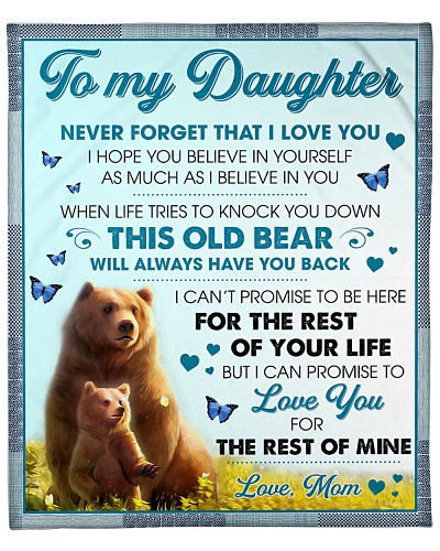 Daughter This Old Bear Will Always Have Your Back