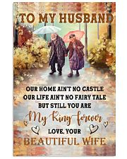 Our Home Ain't No Castle Wife To Husband 11x17 Poster thumbnail