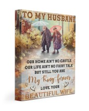Our Home Ain't No Castle Wife To Husband Gallery Wrapped Canvas Prints tile