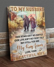 Our Home Ain't No Castle Wife To Husband 16x20 Gallery Wrapped Canvas Prints aos-canvas-pgw-16x20-lifestyle-front-10