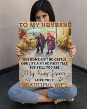 Our Home Ain't No Castle Wife To Husband 16x20 Gallery Wrapped Canvas Prints aos-canvas-pgw-16x20-lifestyle-front-23