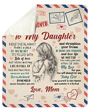 """Inside This Blanket There's Piece Mom To Daughter Sherpa Fleece Blanket - 50"""" x 60"""" thumbnail"""