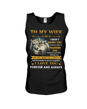 To My Wife I Love You Forever And Always Unisex Tank thumbnail