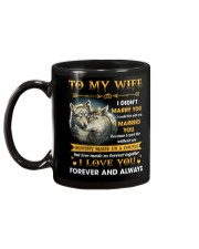 To My Wife I Love You Forever And Always Mug back