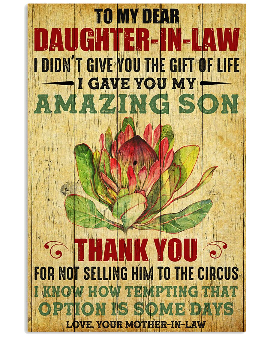 DIL Thanks For Not Selling My Son To The Circus 11x17 Poster