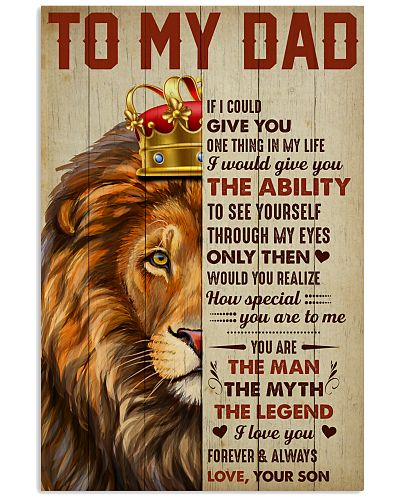 Lion Crown You're The Legend I Love You - For Dad