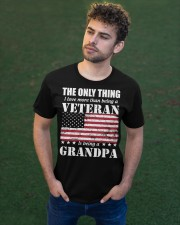 The Only Thing I Love More Than Is Being A Grandpa Classic T-Shirt apparel-classic-tshirt-lifestyle-front-43
