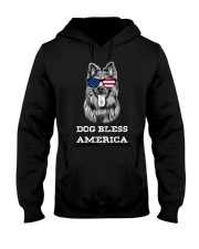 Dog Bless America Hooded Sweatshirt thumbnail