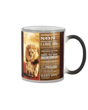 Lion- Never Forget That I Love You Mom-To-Son Color Changing Mug thumbnail