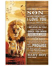 Lion- Never Forget That I Love You Mom-To-Son 11x17 Poster front