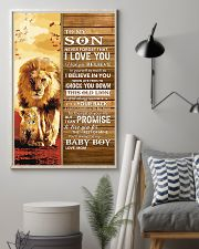Lion- Never Forget That I Love You Mom-To-Son 11x17 Poster lifestyle-poster-1