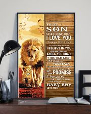 Lion- Never Forget That I Love You Mom-To-Son 11x17 Poster lifestyle-poster-2