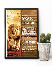 Lion- Never Forget That I Love You Mom-To-Son 11x17 Poster lifestyle-poster-8