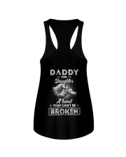 Daddy and Daughter a bond that cant be broken Ladies Flowy Tank thumbnail