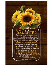 You Are My Sunshine Dad To Daughter 11x17 Poster thumbnail
