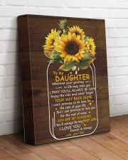 You Are My Sunshine Dad To Daughter 11x14 Gallery Wrapped Canvas Prints aos-canvas-pgw-11x14-lifestyle-front-14