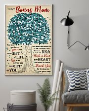 To My Bonus Mom Thanks For Loving Me As Your Own 11x17 Poster lifestyle-poster-1