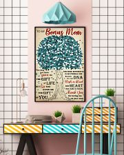 To My Bonus Mom Thanks For Loving Me As Your Own 11x17 Poster lifestyle-poster-6