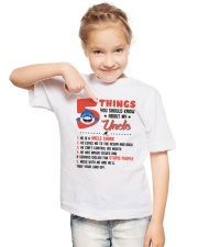 5 Things You Should Know About My Uncle Youth T-Shirt lifestyle-youth-tshirt-front-2
