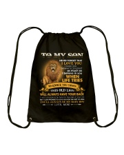 To My Son You'll Always Be My Baby Boy Drawstring Bag tile