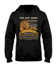 To My Son You'll Always Be My Baby Boy Hooded Sweatshirt thumbnail