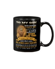 To My Son You'll Always Be My Baby Boy Mug front