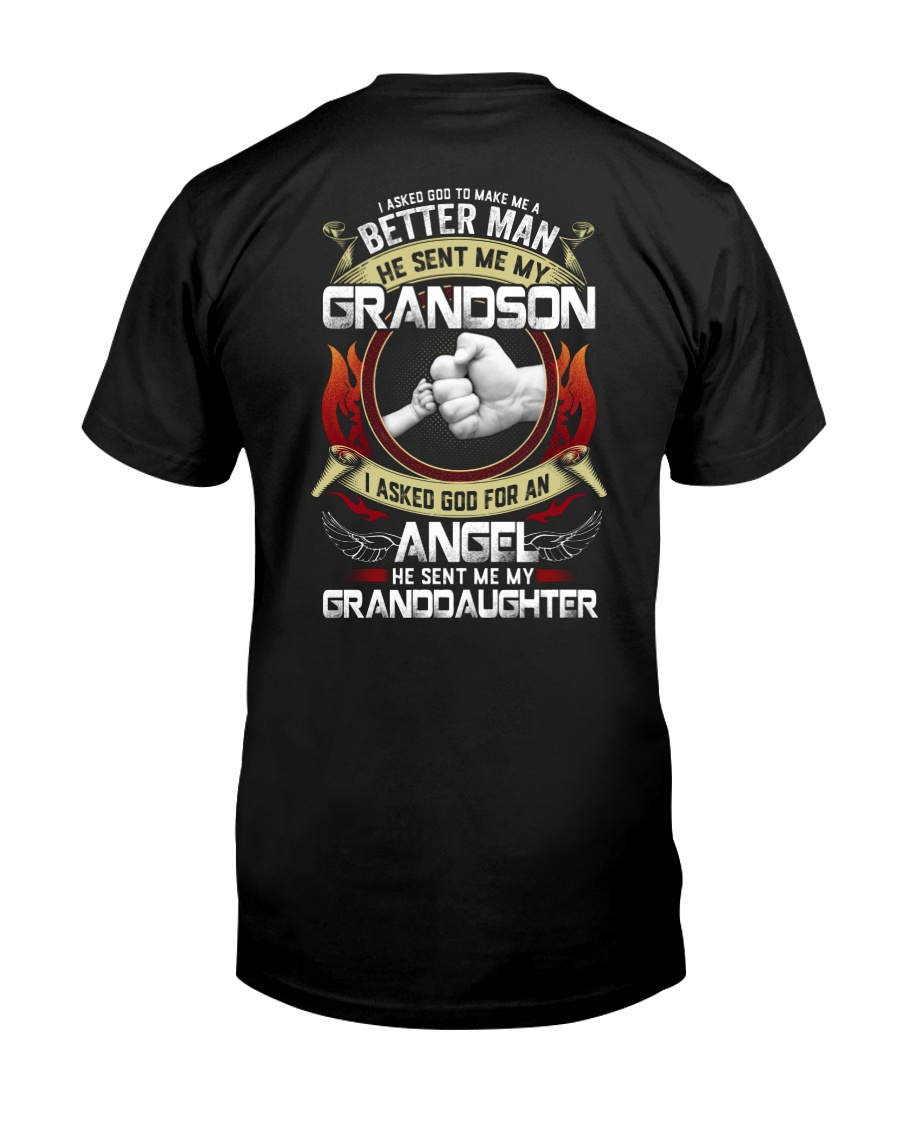 I Asked God For An Angel He Sent Me My GD Classic T-Shirt