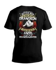 I Asked God For An Angel He Sent Me My GD V-Neck T-Shirt thumbnail