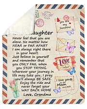 """Never Feel That U Are Alone GM To GD Sherpa Fleece Blanket - 50"""" x 60"""" thumbnail"""