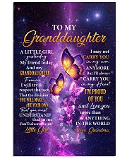 Butterfly-Im Proud Of You Grandma-To-Granddaughter 11x17 Poster thumbnail