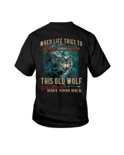 Old Wolf Will Always Have Your Back Youth T-Shirt thumbnail