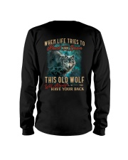 Old Wolf Will Always Have Your Back Long Sleeve Tee thumbnail