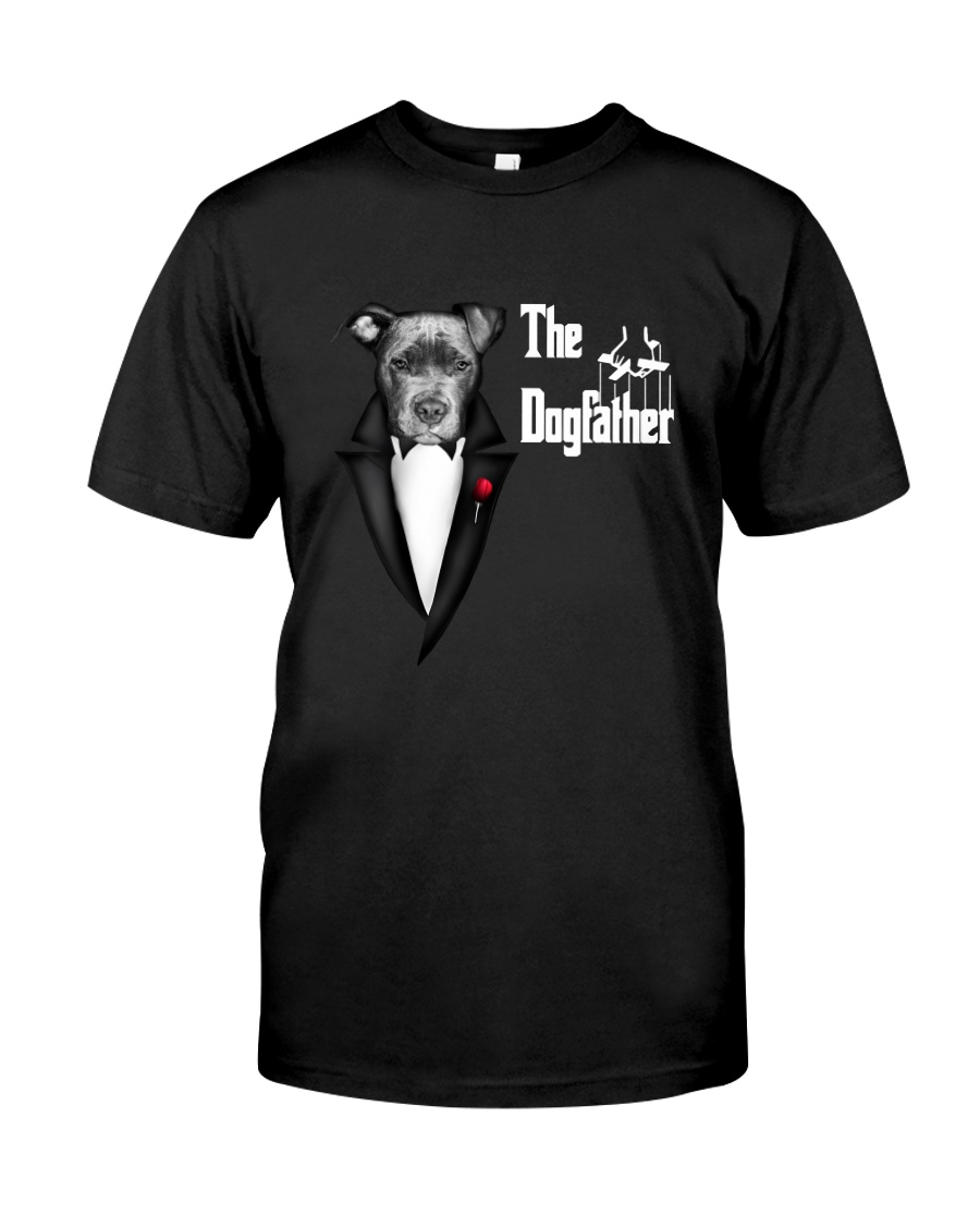 The DogFather Pitbull Classic T-Shirt