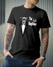 The DogFather Pitbull Classic T-Shirt lifestyle-mens-crewneck-front-6