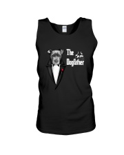 The DogFather Pitbull Unisex Tank thumbnail