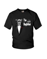 The DogFather Pitbull Youth T-Shirt thumbnail