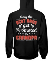 Only The Best Dads Get Promoted To Grandpa Hooded Sweatshirt thumbnail
