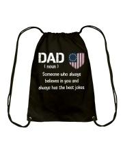Dad Defined Drawstring Bag thumbnail