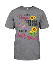 BEING A yaya Classic T-Shirt front